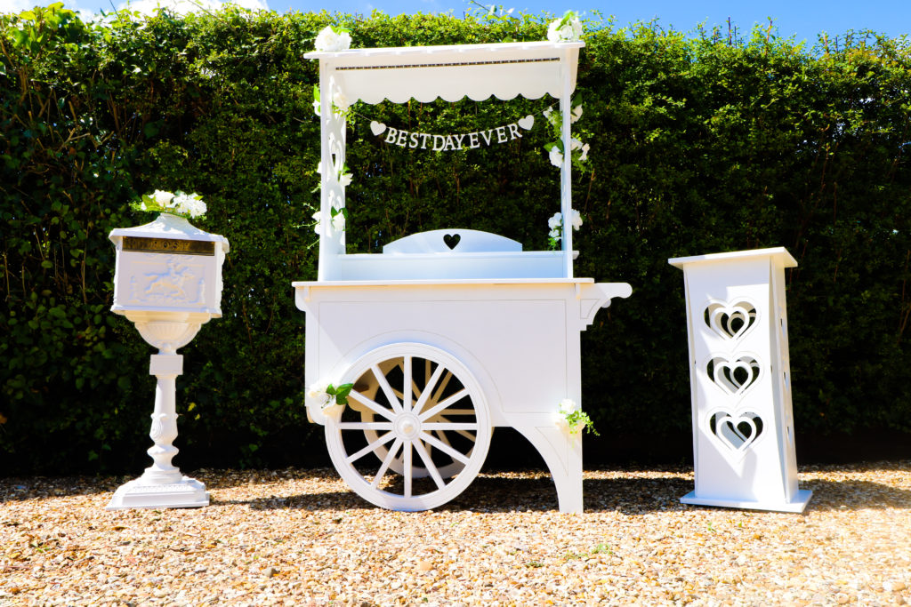 sweetmiccarts deluxe cart wedding hire