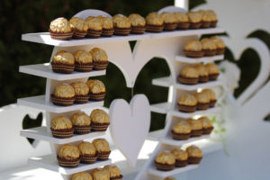 sweetmixcarts-wedding hire ferrero rocher hire