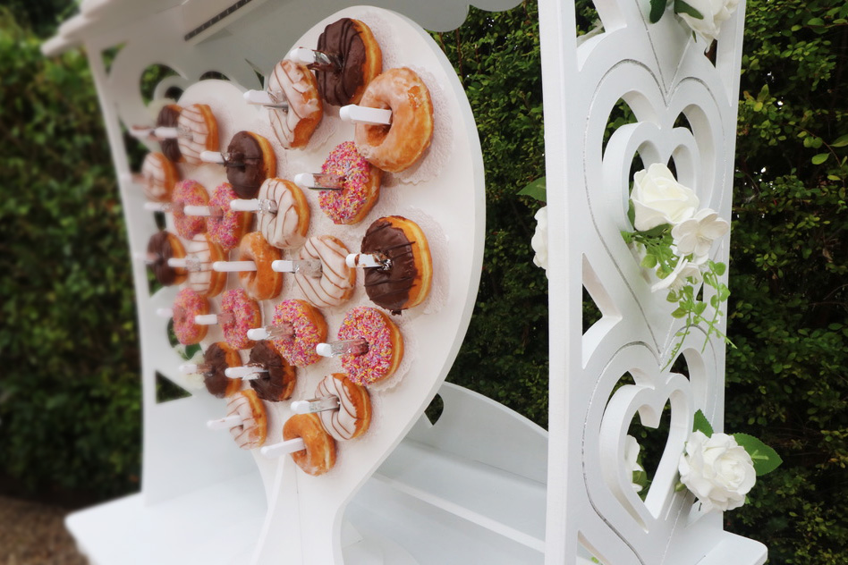 sweetmixcarts wedding hire doughnut wall